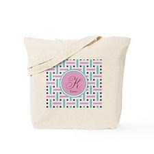 Personalized Monogram Tote Bag