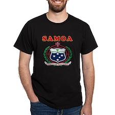Samoa Coat Of Arms Designs T-Shirt