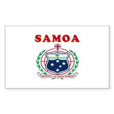 Samoa Coat Of Arms Designs Decal