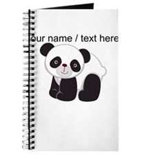 Custom Cute Panda Journal