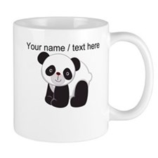 Custom Cute Panda Small Mug