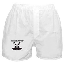 Custom Cute Panda Boxer Shorts