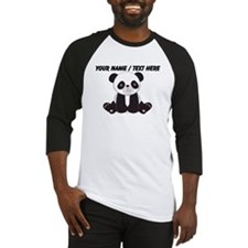Custom Cute Panda Baseball Jersey