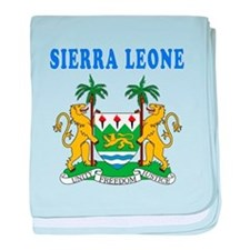 Sierra Leone Coat Of Arms Designs baby blanket