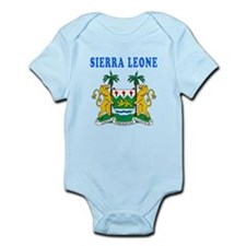 Sierra Leone Coat Of Arms Designs Infant Bodysuit