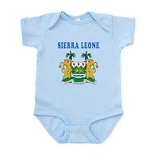 Sierra Leone Coat Of Arms Designs Onesie