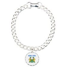 Sierra Leone Coat Of Arms Designs Bracelet