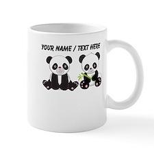 Custom Cute Pandas Small Mug