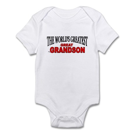 """""""The World's Greatest Great Grandson"""" Infant Bodys"""