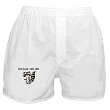 Custom Cartton Raccoon Boxer Shorts