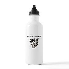 Custom Cartton Raccoon Water Bottle