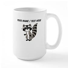 Custom Cartton Raccoon Mug
