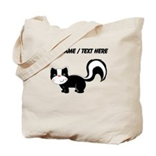 Custom Cartoon Skunk Tote Bag