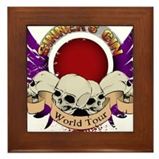 Sinner's Gin World Tour Design Framed Tile