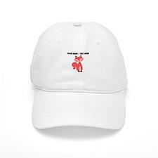 Custom Cartoon Red Fox Baseball Baseball Cap