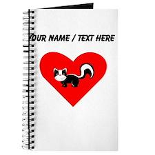 Custom Skunk Heart Journal