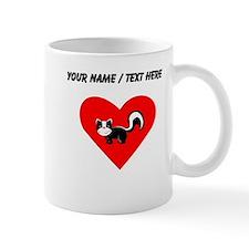 Custom Skunk Heart Mug
