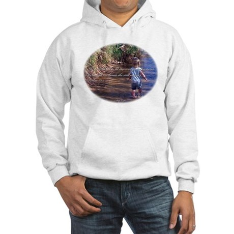 Psalms 23:2 Hooded Sweatshirt