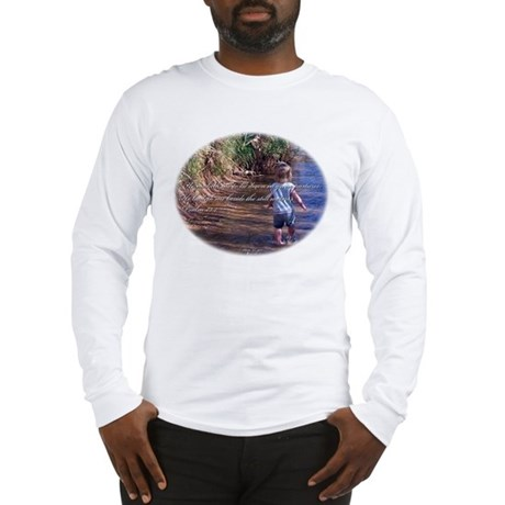 Psalms 23:2 Long Sleeve T-Shirt