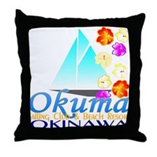 Okuma Sailing Club & Resort Throw Pillow