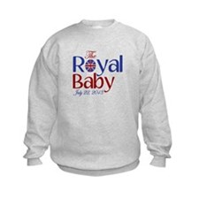 The Royal Baby Birthdate Souvenir Sweatshirt