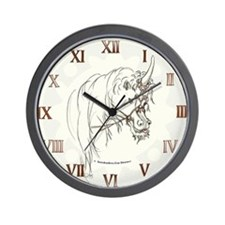 UNICORN LEGEND Fantasy art Wall Clock