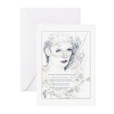 Lady Rose Greeting Cards (Pk of 10)