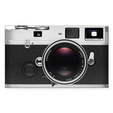Retro Style Camera Decal