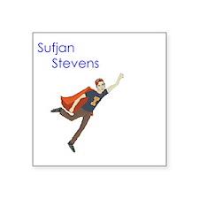 Sufjan Stevens Rectangle Sticker