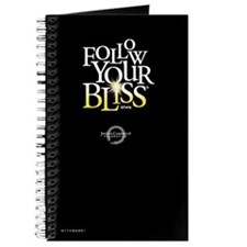 Follow Your Bliss Journal (black)