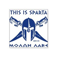 This is Sparta (blue) Sticker