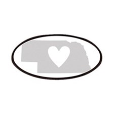 Heart Nebraska Patches