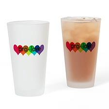 Pro-LOVE Drinking Glass