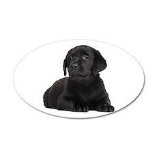 Labrador Retriever 35x21 Oval Wall Decal