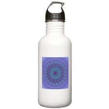 Purple Inspire mandala kaleidoscope Sports Water B