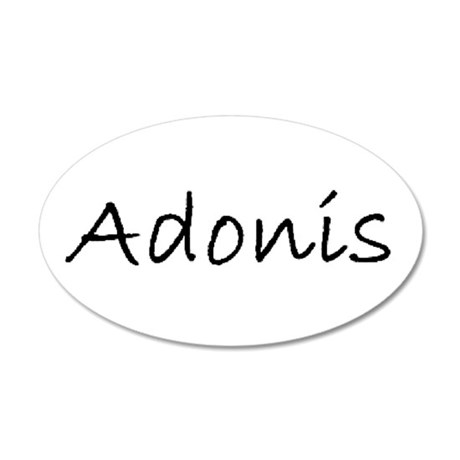 adonis 2 Wall Decal