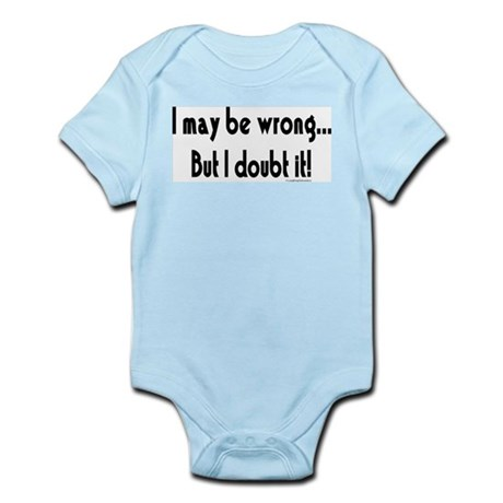 I may be wrong...But I doubt it!.eps Body Suit