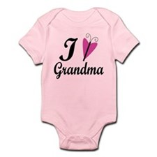 I Heart My Grandma Infant Bodysuit