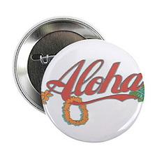 """Aloha Hawaii 2.25"""" Button"""