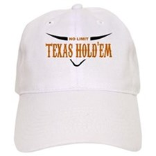 No Limit Texas Hold'em Baseball Cap