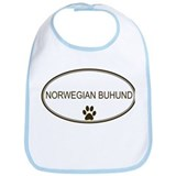 Oval Norwegian Buhund Bib