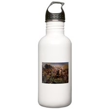 washington at monmouth Water Bottle