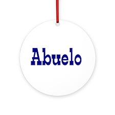 Abuelo Ceramic Ornament