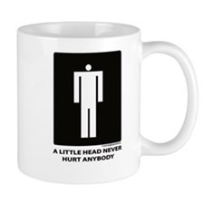 A Little Head Never Hurt Anybody Mug