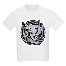 Distressed Wild Rhino Stamp T-Shirt