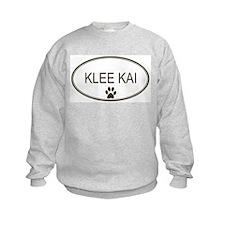 Oval Klee Kai Sweatshirt