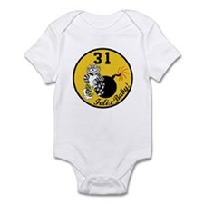 F-14 Tomcat VF-31 Tomcatters Infant Bodysuit