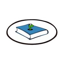 Book Worm Patches