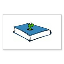 Book Worm Decal