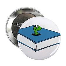 "Book Worm 2.25"" Button"